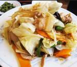 野菜炒めを海外で作る