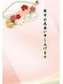 梅の花と鼓1