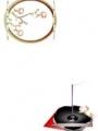 梅の花と折り鶴4