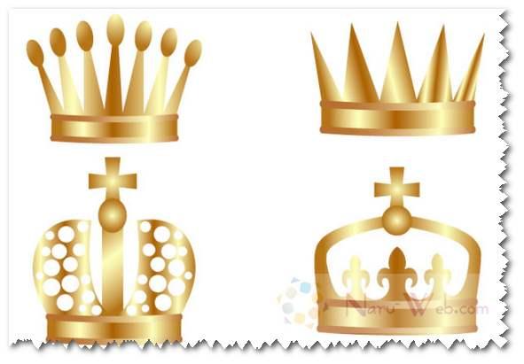 王冠マーク フリー素材
