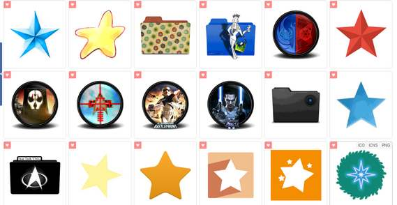 星アイコンStar Icons - Download 511 Free Star icons here - Icon Archive
