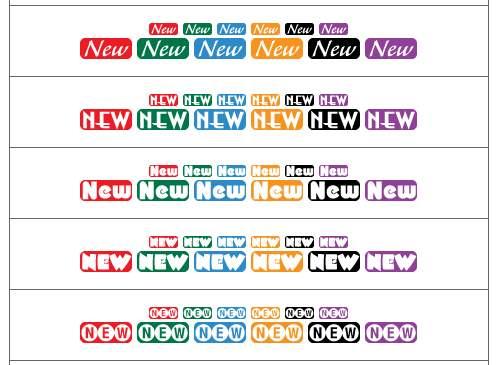 New:文字アイコン - 無料〔フリー〕ホームページ素材集