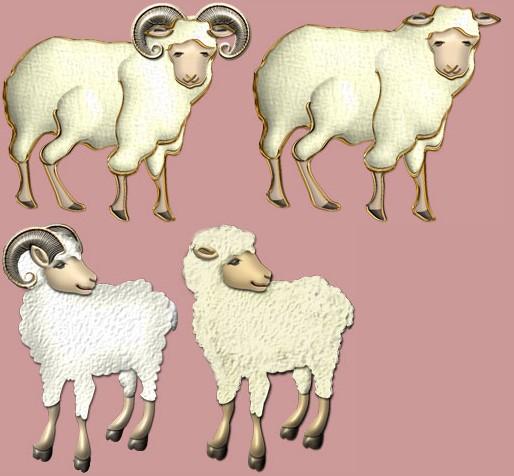 羊 未年かわいいフリーweb素材のイラスト 画像集めてみた Naru Web