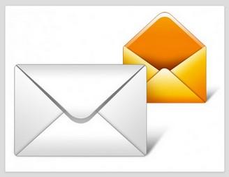 メールアイコンPSD  | ダウンロード無料のPSD