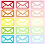 メールのマーク・お問合せ・EMAIL フリー素材アイコンマーク アイキャッチ