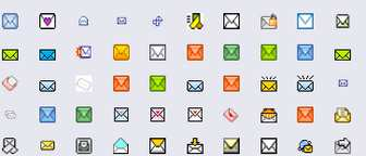 Free Gif Email icons,Email icons,Mail icons,E-Mail icons,Junk E-mail icons
