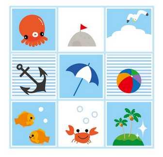 暑中見舞い無料ダウンロード(テンプレートと夏のイラスト)無料暑中見舞い素材