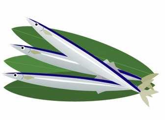 サンマ(秋刀魚)のイラスト素材 | 無料のイラスト・かわいいテンプレート | 素材ライブラリー