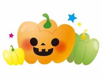 かぼちゃ・ハロウィンのイラスト素材 | 無料のイラスト・かわいいテンプレート | 素材ライブラリー