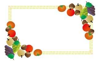 大サイズ高解像度の果物のフレームのフリー素材
