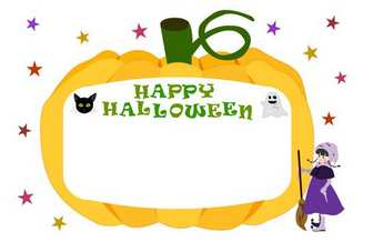 halloween-c02.jpg - 無料イラスト素材屋 「SATUKI晴れ」 Free materials and illustrations