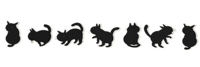 黒猫 イラスト ライン