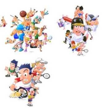 スポーツイラスト 体育の日イラスト | Sports-Box - 楽天ブログ