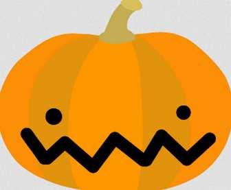 ハロウィン・かぼちゃのイラスト-無料イラスト
