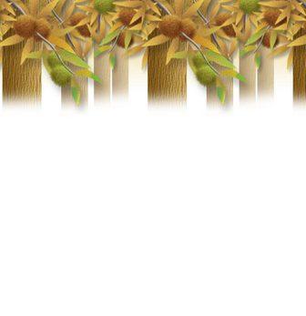 栗の壁紙(たて) 壁紙