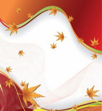 秋の葉のベクトルの背景-ベクトルの背景-無料ベクトル 無料でダウンロードします。
