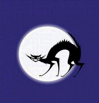 黒い猫-ベクトル クリップ アート-無料ベクトル 無料でダウンロードします。