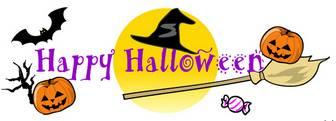 印刷素材.net/無料イラスト素材・カット素材「ハロウィン・HappyHalloween2」