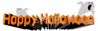 ハロウィンのロゴ