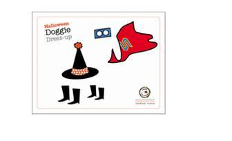 Halloween Dog Dress-Up | Free Printable Paper Dolls | Living Locurto | Party Ideas, Printables & Crafts | DIY Lifestyle Blog