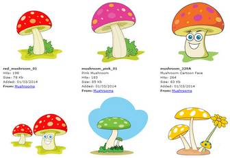 Search Results for Mushrooms Pictures - Graphics - Illustrations - Clipart - Photos