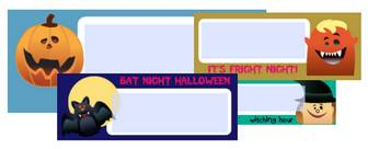 Free Halloween Address Labels, Fillable PDF Printables | Worldlabel Blog