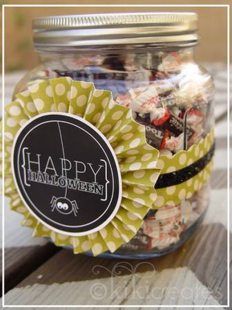 kiki creates: Halloween Treat Jars {Free Download}