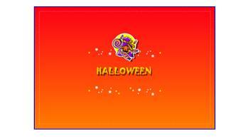 秋、10月31日|ハロウィンカード(表)、印刷素材|フリー素材|素材のプチッチ