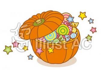 ハロウィン お菓子イラスト/無料イラストなら「イラストAC」