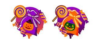 ハロウィンお菓子セットBの無料イラスト|フリー素材|素材プチッチ