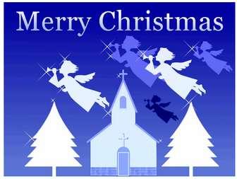 クリスマス素材 クリスマスカード