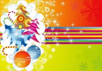 クリスマス カード ベクトル イラスト-その他をベクトルします。-無料ベクトル 無料でダウンロードします。