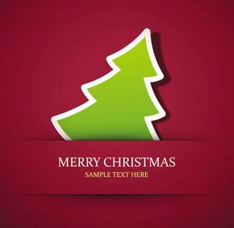 シンプルなクリスマスカードの無料イラスト - 無料イラスト・フレーム be-bop.info