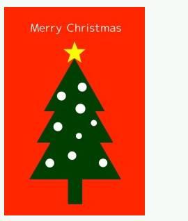 クリスマスカード② | 手紙の書き方