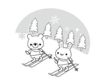 冬のイラスト/無料イラスト