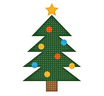 「クリスマスツリー」 - 無料イラスト愛