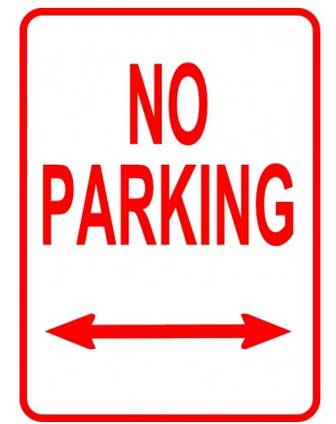 No Parking Sign clip art Vector clip art - Free vector for free download