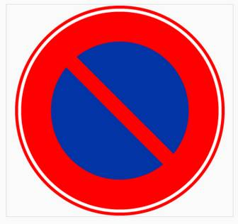 駐車禁止-【EPSフリー素材集.jp】