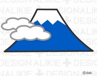富士山のイラスト素材|dakImage(ダックイメージ)
