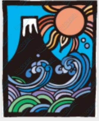 和風な富士山のイラスト|テンプレートの無料ダウンロードは【書式の王様】