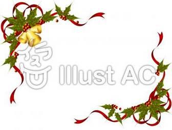 クリスマスフレームイラスト/無料イラストなら「イラストAC」