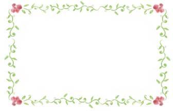 無料 素材 囲い枠 飾り枠 ... : 便箋 テンプレート 無料 冬 : 無料