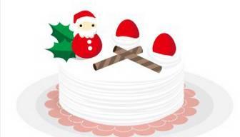 クリスマスケーキ - 無料イラスト素材 「趣味で作ったイラストを配るサイト」商用利用OK