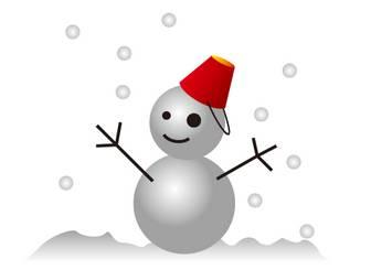 雪だるまイラスト-商用加工OK無料フリーイラスト素材-エムスタジオ