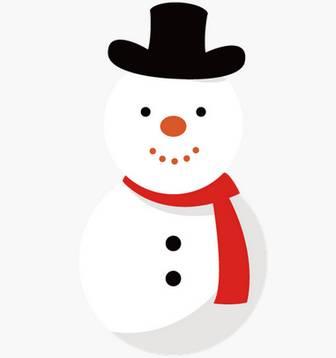 雪だるま イラスト   EC design(デザイン)