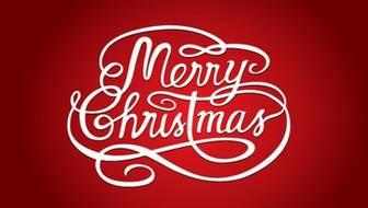 メリークリスマスのロゴ