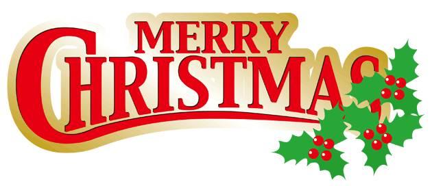 メリークリスマスのロゴ・文字 ...