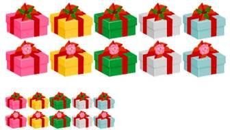 プレゼント箱素材3 画像フリー素材|無料素材倶楽部