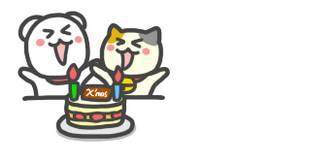 クリスマスケーキ フリー(無料)|ビヨビヨ イラスト工房