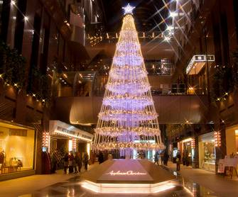クリスマス・イルミネーション壁紙集 -大阪 at Night-